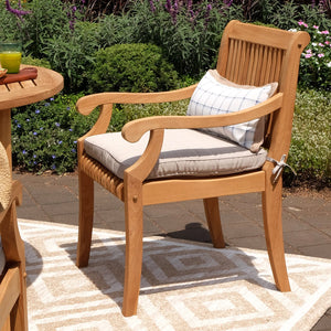 Only at Cambridge Casual you can buy the finest teak outdoor furniture, including this excellent Mosko Solid Teak Wood 5 Piece Outdoor Dining Set. Available today!