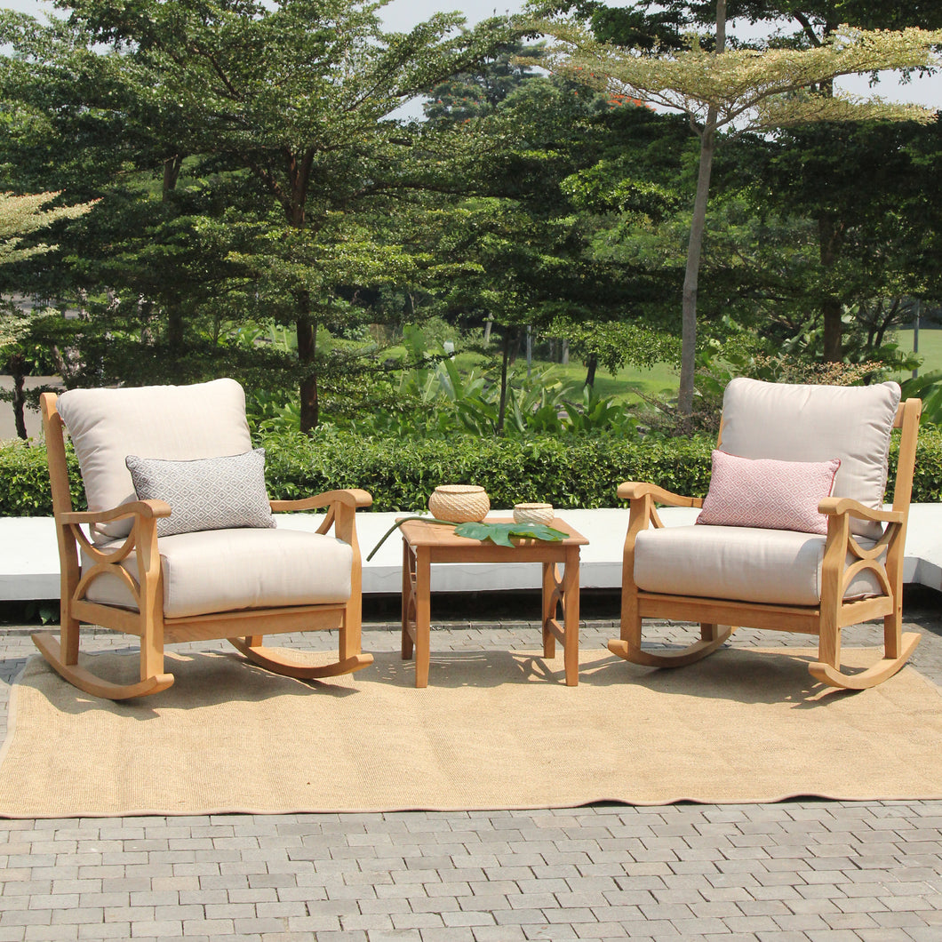 Take a look at this Abbington Patio Furniture 3pc Outdoor Chat Set to enhance your balcony or patio. It's available now from Cambridge Casual.