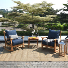 Get this Abbington 3pc Outdoor Chat Set to enhance your balcony or patio. It's available now from Cambridge Casual. Elegant outdoor seating set to relax in style.
