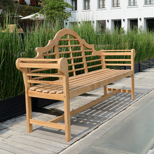 Purchase this exquisite Lutyens Solid Teak Wood 5 Feet Outdoor Bench from Cambridge Casual today. The Lutyens range offers some of the quality teak patio furniture available.