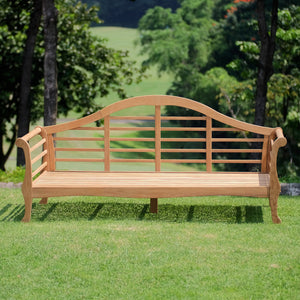 The Lutyens Solid Teak Wood Outdoor Daybed is a luxurious and majestic piece of teak furniture. Buy it today, and explore the full range patio furniture, at Cambridge Casual.