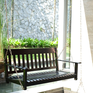 Moni Porch Swing Black outdoor furniture