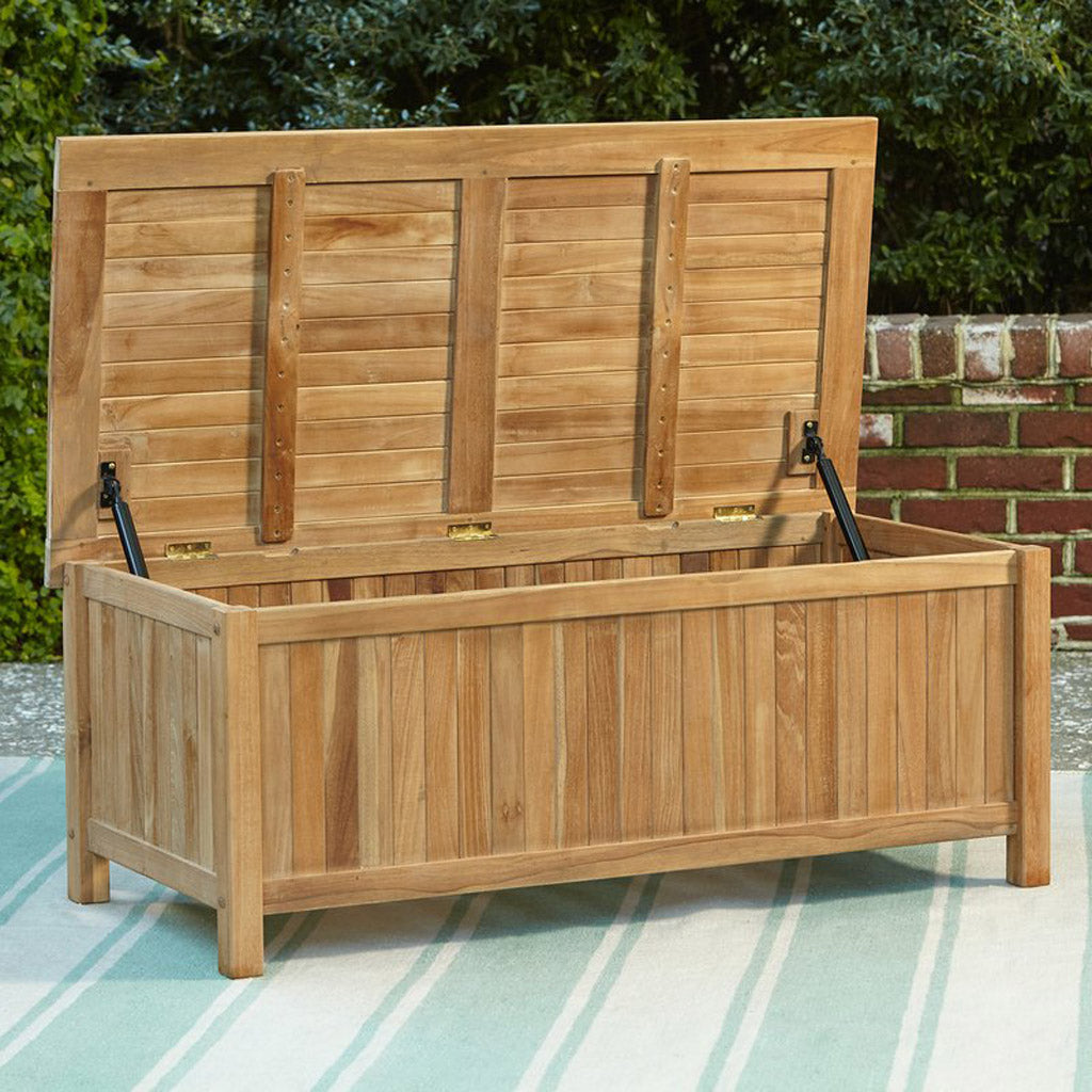 Richmond Teak Storage Box Patio Furniture