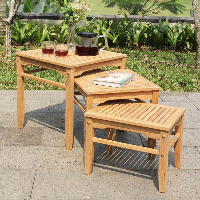 Outdoor Nesting Side Table