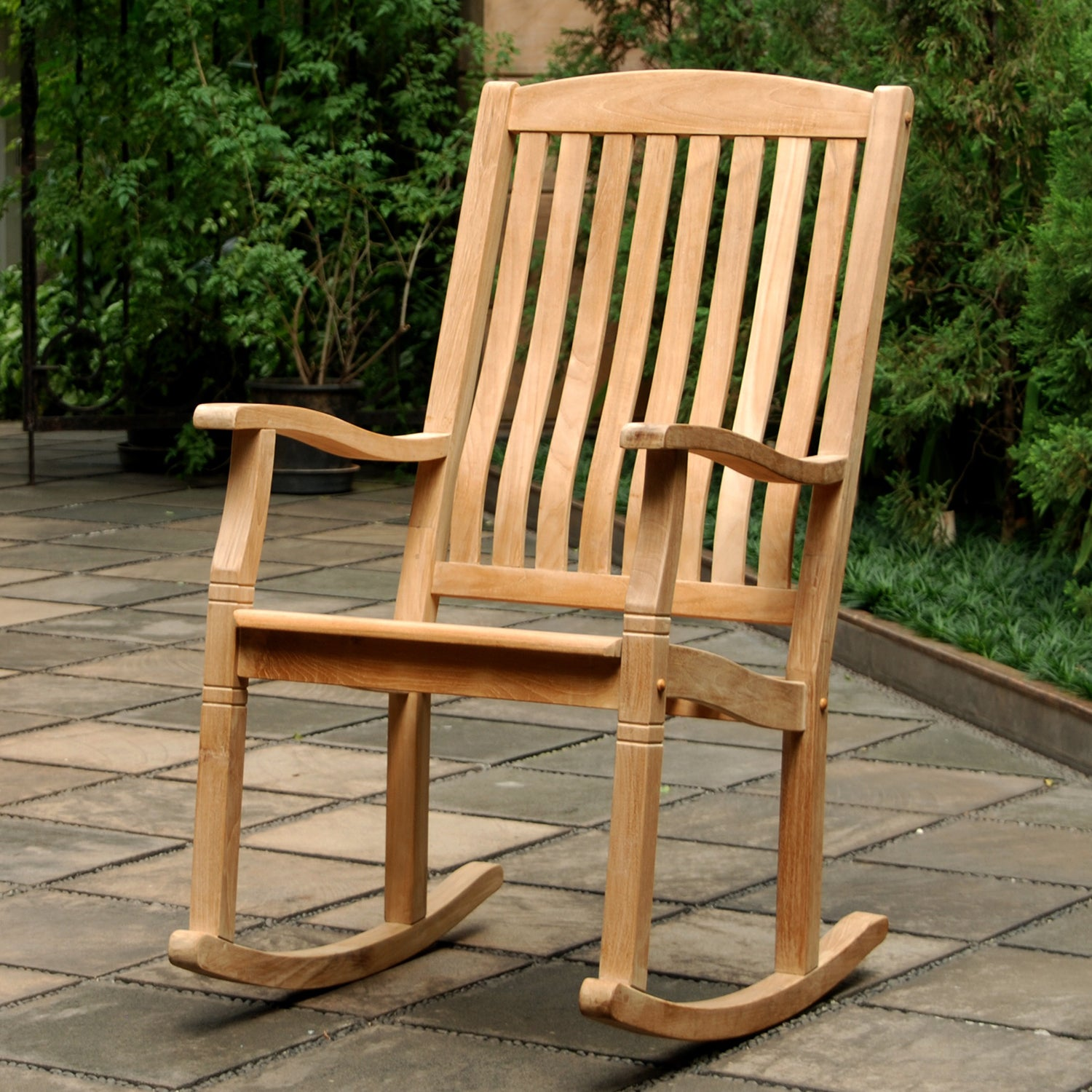 This Gorgeous Teak Rocking Chair From The Richmond Collection Is Available  Now At Cambridge Casual.
