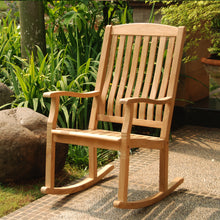 This gorgeous teak rocking chair from the Richmond collection is available now at Cambridge Casual. Discover more and shop the full range here.