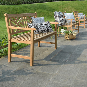 Discover why the Rocca collection from Cambridge Casual can help transform your garden. Buy this beautiful teak bench, today.