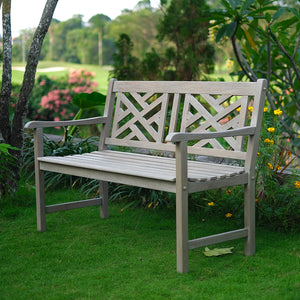 Teak Wood Outdoor Bench