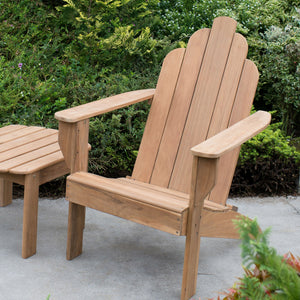 Teak Adirondack Chair Patio Furniture