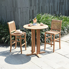 3pc Teak Bar Bistro Set