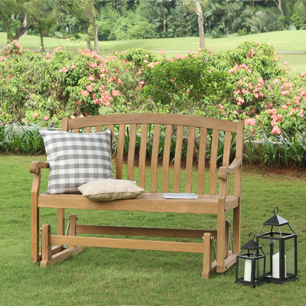 Vermont Teak Glider Patio Furniture