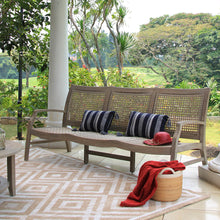 Enjoy your outdoor space with the Zuma collection from Cambridge Casual, including this cool Outdoor Wicker Sofa. Cambridge Casual Patio Furniture