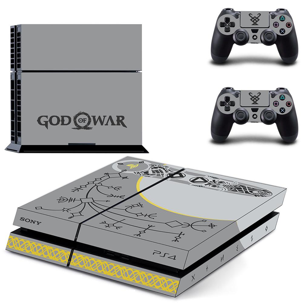 God Of War Ps4 Skin Sticker Decals Free Shipping Djs A La