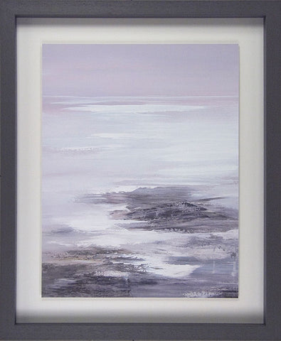 Framed Picture Neutral Seascape