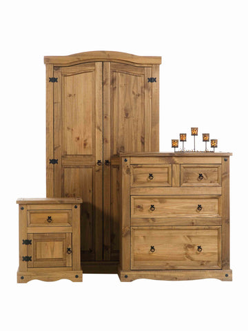 Corona Pine 2 Over 2 Chest Of Drawers