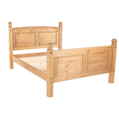 Corino Pine Double High End Bed