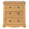Image of Corona Pine 3 Drawer Chest