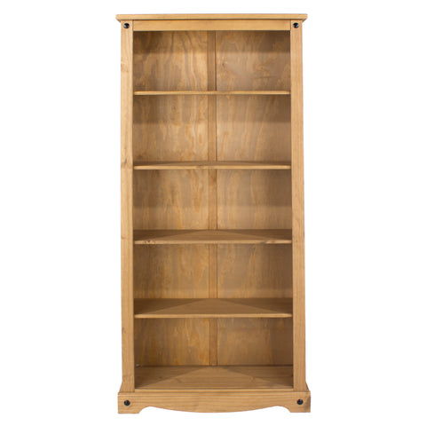Corino Pine Tall Bookcase
