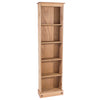 Image of Corona Pine Tall Narrow Bookcase