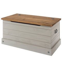 Corona Grey Blanket Box