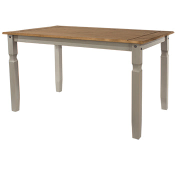 Corona Grey Large Dining Table