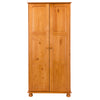 Image of Sorento 2 Door Wardrobe with Hanging Rail & Shelf