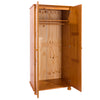 Image of Dovedale 2 Door Wardrobe with Hanging Rail & Shelf
