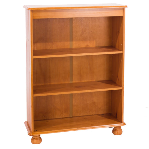 Dovedale 3 Shelf Bookcase with Adjustable Shelves