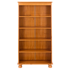 Image of Sorento 5 Shelf Bookcase with One Fixed & Three Adjustable Shelves