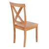 Image of Pair Of Hamilton Chairs With Wooden Seat