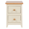 Image of St Ives 2 Drawer Petite Bedside Cabinet