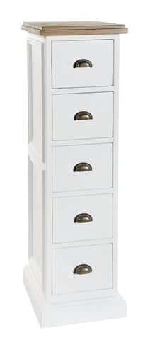 Ramsdon Tall Chest 5 drawers