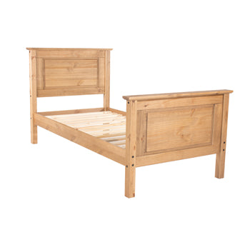 Corona Pine Single High End Bed