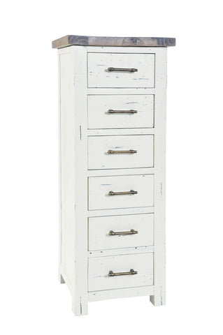 Fleetwood 6 Drawer Narrow Chest