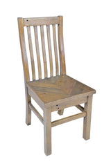 Pair Of Willoughby Reclaimed Pine Dining Chairs
