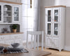 Image of Cadiz Oak and Pine Two Door Glazed Unit