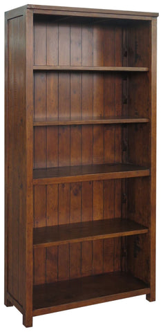 Travis Reclaimed Pine Large Bookcase