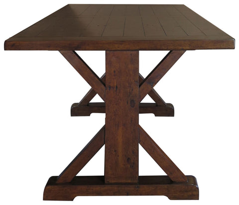 Travis Reclaimed Large Pine Refectory Dining Table