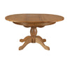 Image of Loire Round Extending Oak Pedestal Table