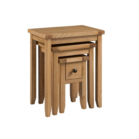 Montana Small Nest of Tables with Drawer