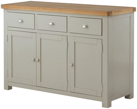 Astoria Stone Grand 3 Door Sideboard