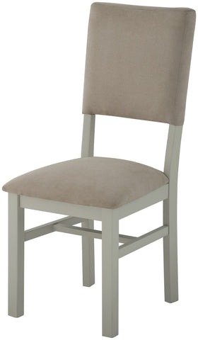 Astoria Stone Grand Dining Chair with Fabric Back