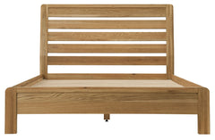 Sola Scandinavian Oak 4ft 6in Double Bed Frame