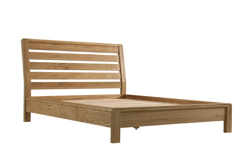 Sola Scandinavian Oak 5ft Kingsize Bed