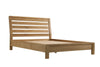 Image of Sola Scandinavian Oak 5ft Kingsize Bed