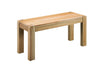 Image of Sola Scandinavian Oak Bench