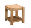 Image of Sola Scandinavian Oak Lamp Table