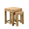 Image of Sola Scandinavian Oak Nest of Two Tables
