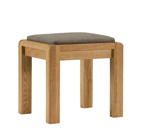 Sola Scandinavian Oak Stool