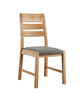 Image of Pair Of Sola Scandinavian Oak Dining Chair